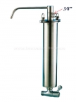 "10"" 2 Way Medium 3/8"" Super Thin Stainless Steel Purifier System"
