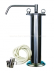 "10"" Portable Stand Super Thin Stainless Steel Purifier System"