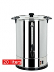 20 Liters Stainless Steel Tank Hot Water Urn