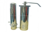 DOUBLE MICROSTAR Stainless Steel Water Filter System
