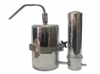 H MODEL Twin Stainless Steel Water Filter System