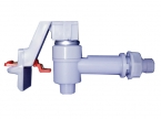 Hot water tap with safety lock for UV-919