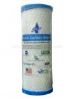 MICROSTAR USA Carbon Block Filter Cartridge SUB MICRON (BLUE)