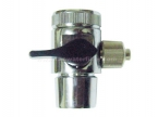 "1 Way Adapter with Skru (3/8"") (Medium) Rubber Turner"