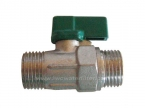Male Mini Ball Valve 20mm x 20mm