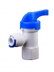 QJ Fitting BV-102 Stopper Ball Valve 1/4""