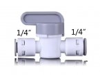 QJ Fitting BV-101 Stopper Ball Valve 1/4""