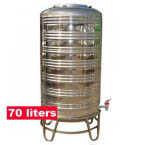 Stainless Steel Tank 70 liters / 15 gallons