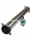 "Stainless Steel 4""x40"" UF Membrane Water Filter System"