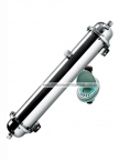 "Stainless Steel 4""x42"" UF Membrane Water Filter System"